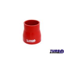 Szilikon szűkító TurboWorks Piros 51-67mm